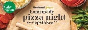 Fleischmann's Homemade Pizza Night Sweepstakes