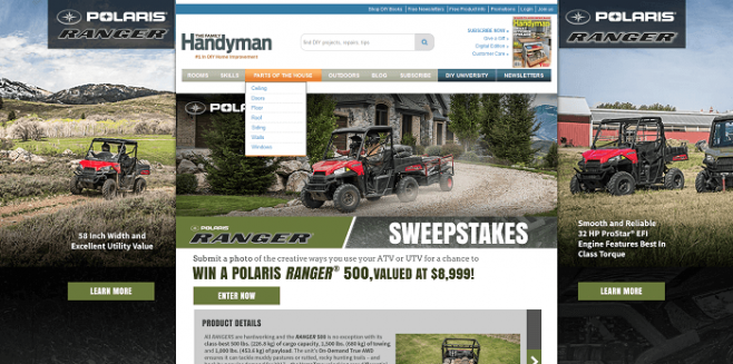 The Family Handyman Ranger 500 Sweepstakes