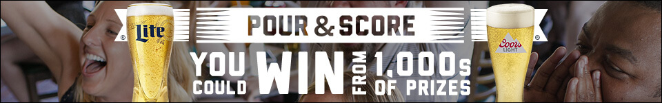 PourAndScore.com - Pour And Score Promotion Presented By Coors Light And Miller Lite