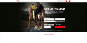 Puma Usain Bolt Signed Spikes Sweepstakes