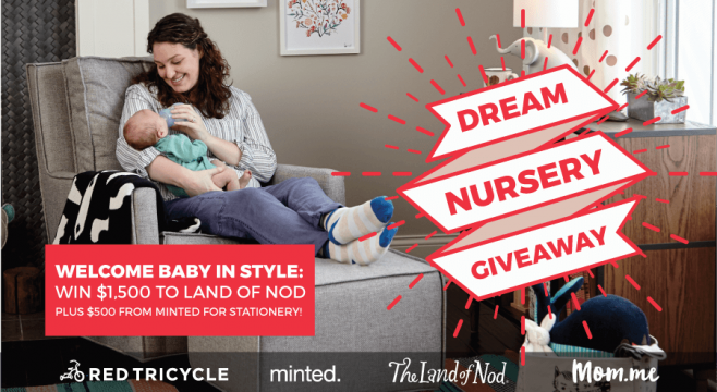 Red Tricycle Dream Nursery Giveaway