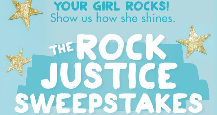 ShopJustice.com/RockJusticeSweeps - Rock Justice Sweepstakes