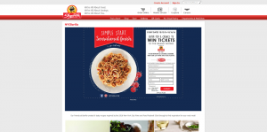 ShopRite Barilla New York City Wine & Food Festival Sweepstakes