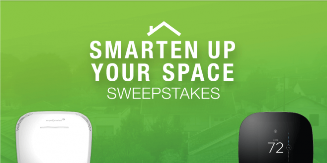 Amped Wireless 2016 Smarten Up Your Space Sweepstakes