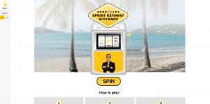 Sprint Getaway Giveaway
