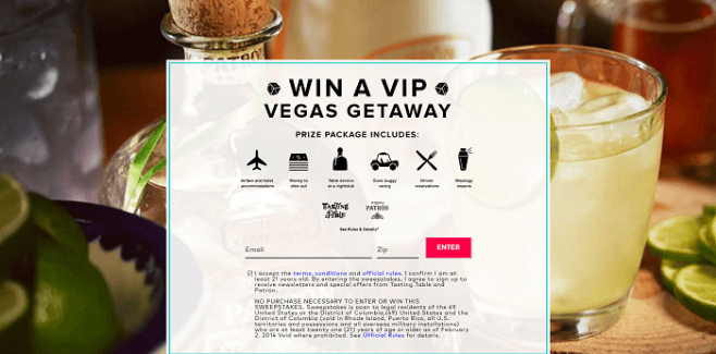 Tasting Table Win An Epic Las Vegas Long Weekend-Win A VIP Vegas Getaway 2016 Sweepstakes