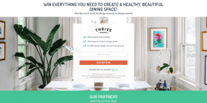 Thrive Market Sweepstakes
