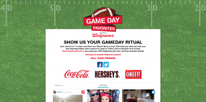 Walgreens Game Day Ritual Sweepstakes