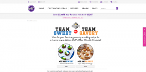 WILTON Sweet vs Savory Sweepstakes