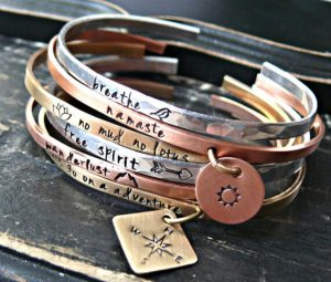 your charmed life Personalized Bangle Bracelets Giveaway