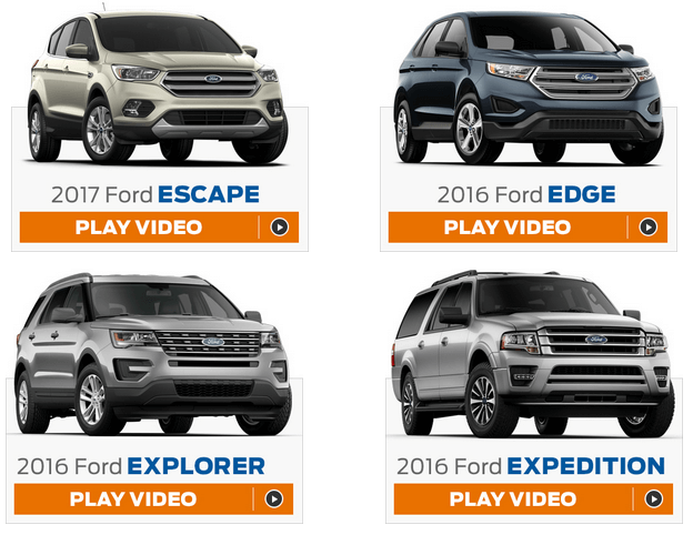 ford event sweepstakes videos