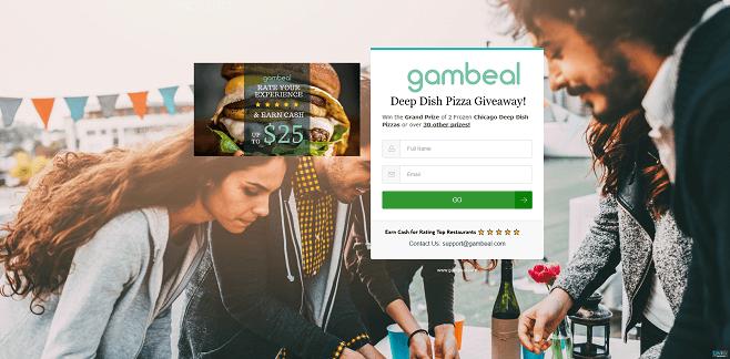 Gambeal Deep Dish Pizza Giveaway