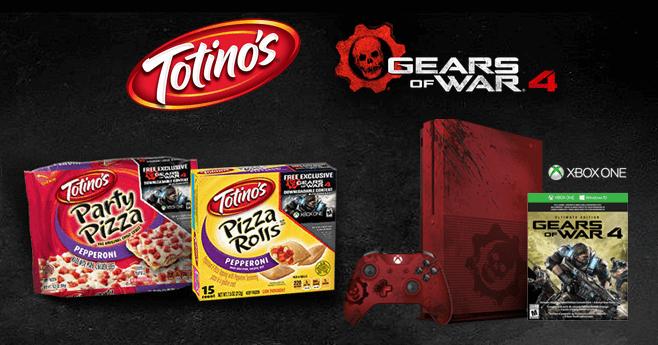 GearsOfWar.Totinos.com - Totino's Gears of War 4 Sweepstakes