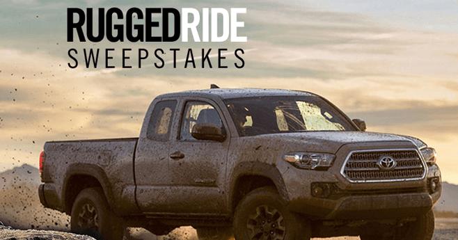KeenUtility.com - KEEN Rugged Ride Sweepstakes