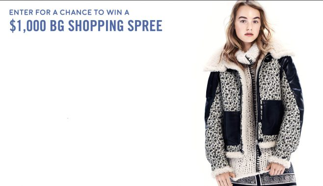 Bergdorf Goodman $1,000 Shopping Spree Sweepstakes
