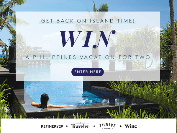 Refinery29 + Condé Nast Traveler + Thrive Market + Winc Sweepstakes