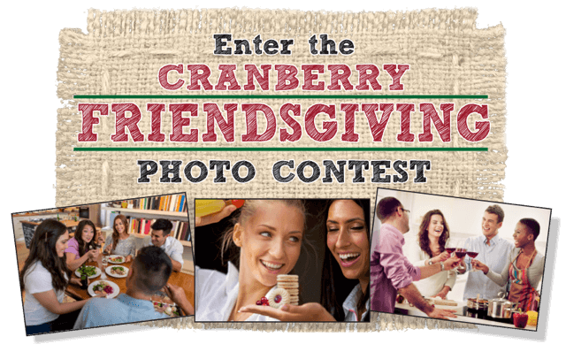 Cranberry Friendsgiving Photo Contest