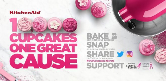 hhgregg & KitchenAid Cook for the Cure Sweepstakes