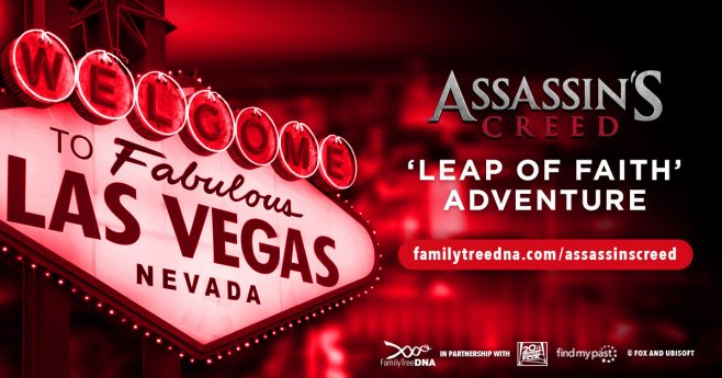 Family Tree DNA Assassin's Creed Find My Past Sweepstakes