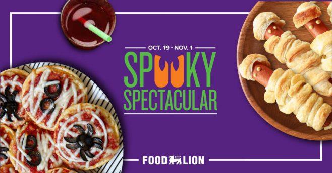 Food Lion Spooky Spectacular MVP Promotion (FoodLion.com/Spooky)