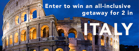 Hamptons Lane 7-Night Enchanting Tour of Italy Sweepstakes