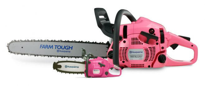 Husqvarna Breast Cancer Awareness Month Contest