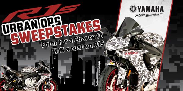 Yamaha R1S Urban Ops Sweepstakes