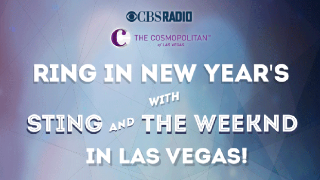 Radio.com New Year's Eve at the Cosmopolitan of Las Vegas Sweepstakes