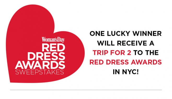 Woman's Day 2017 Red Dress Awards Sweepstakes