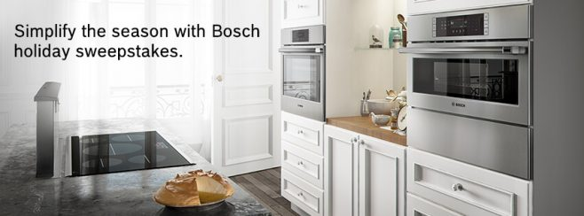 2016 Bosch Simplify the Season Sweepstakes