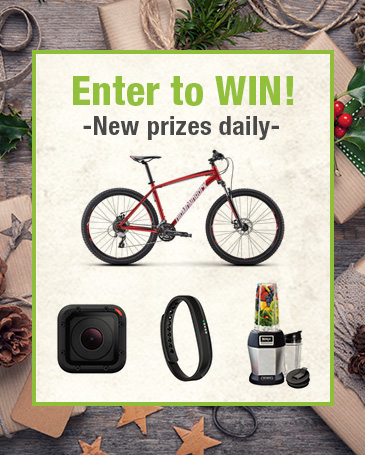 Vitacost 25 Days of Holiday Giveaways