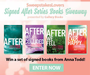 Signed After Series Books Giveaway presented by Gallery Books
