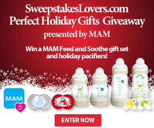 Perfect Holiday Gifts Giveaway presented by MAM