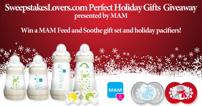 SweepstakesLovers.com Perfect Holiday Gifts Giveaway presented by MAM