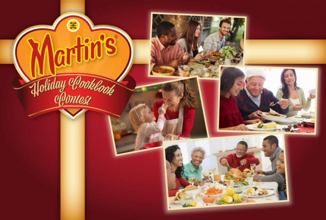 Martin's Holiday Cookbook Contest