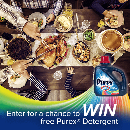 Purex Thanksgiveaway Sweepstakes