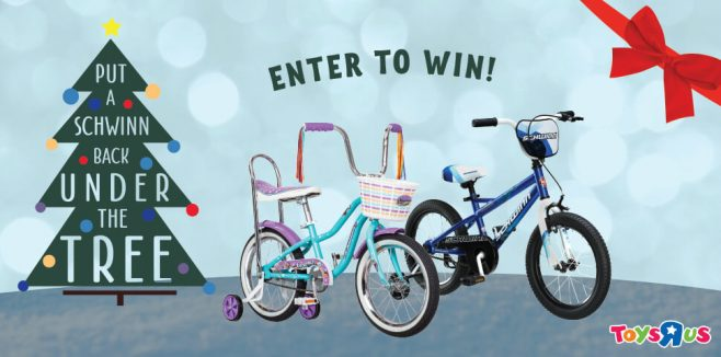 SCHWINN Put a Bike Back Under the Tree Sweepstakes