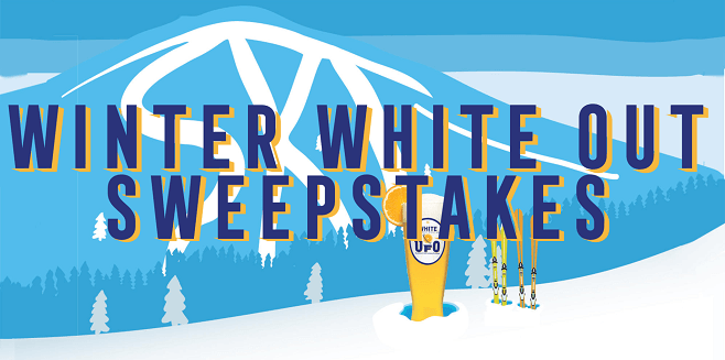 Harpoon Brewery's UFO Winter White Out Sweepstakes