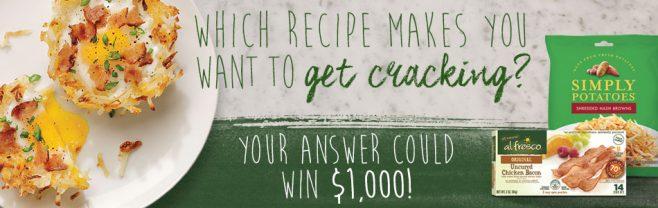 al fresco & Simply Potatoes Recipe Sweepstakes