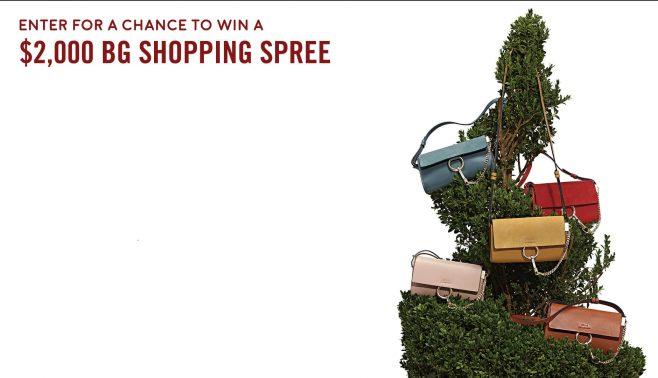 Bergdorf Goodman $2,000 Shopping Spree Sweepstakes