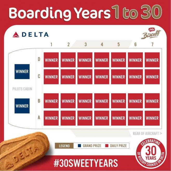 Biscoff 30 Sweet Years Promotion
