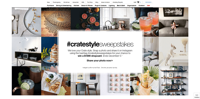 Crate And Barrel #CrateStyleSweepstakes Sweepstakes