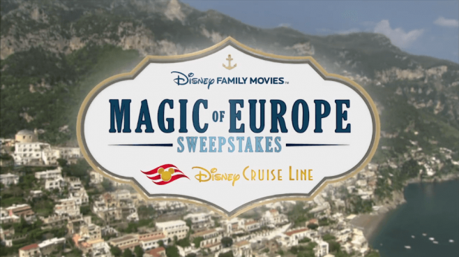 disney family movies magic of europe sweepstakes