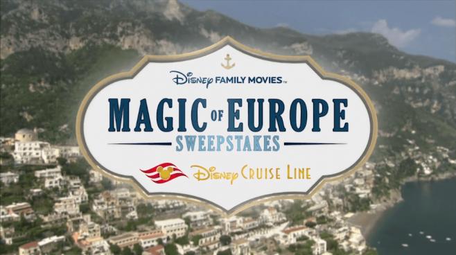 disney family movies magic of europe sweepstakes