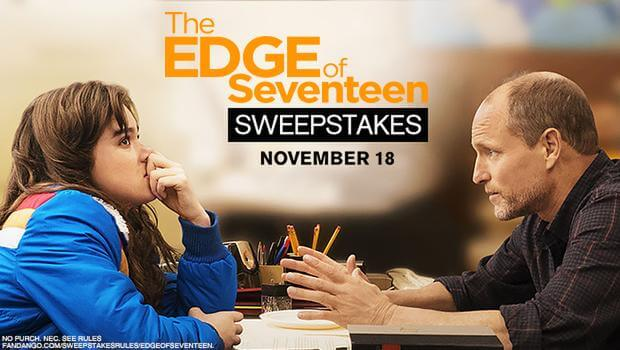 Fandango's The Edge of Seventeen Sweepstakes