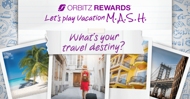 Obitz Vacation M.A.S.H. Promotion