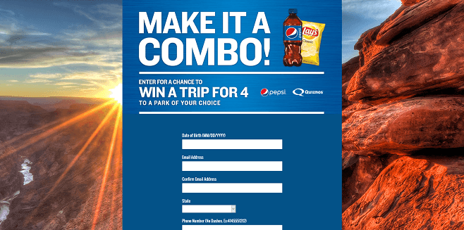 Pepsi Instant Adventure Sweepstakes