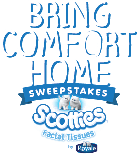 Scotties Bring Comfort Home Sweepstakes