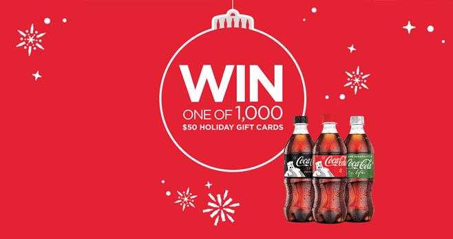 Coke Winner Wonderland Gift Card Giveaway (CokePlayToWin.com/WinnerWonderland)