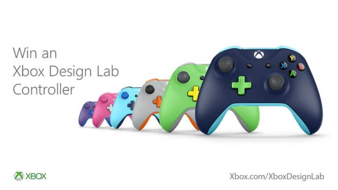 Microsoft Xbox Design Lab Controller Promotion